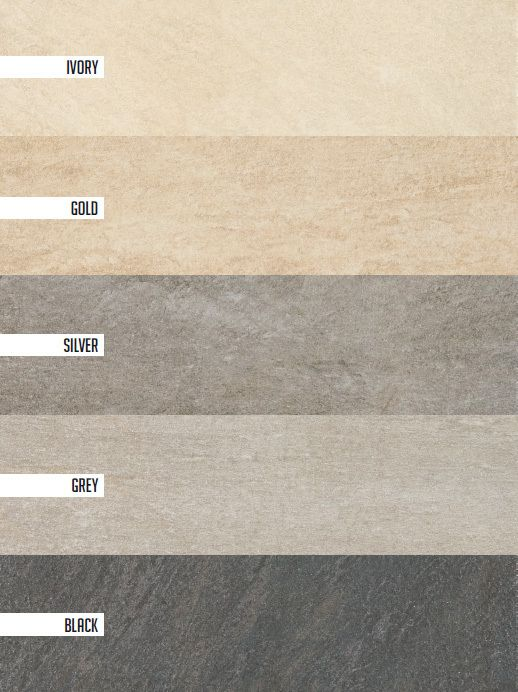 Stoneline Marca Corona Colors 6 Sizes Rectified For