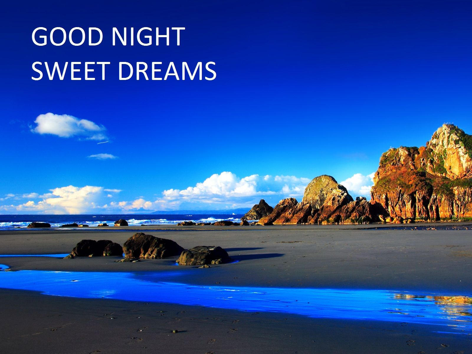 Goodnight Quotes Cute Good Night Quotes Good Night With Quotes Scenery Wallpaper Beach Scenery Nature Desktop Wallpaper