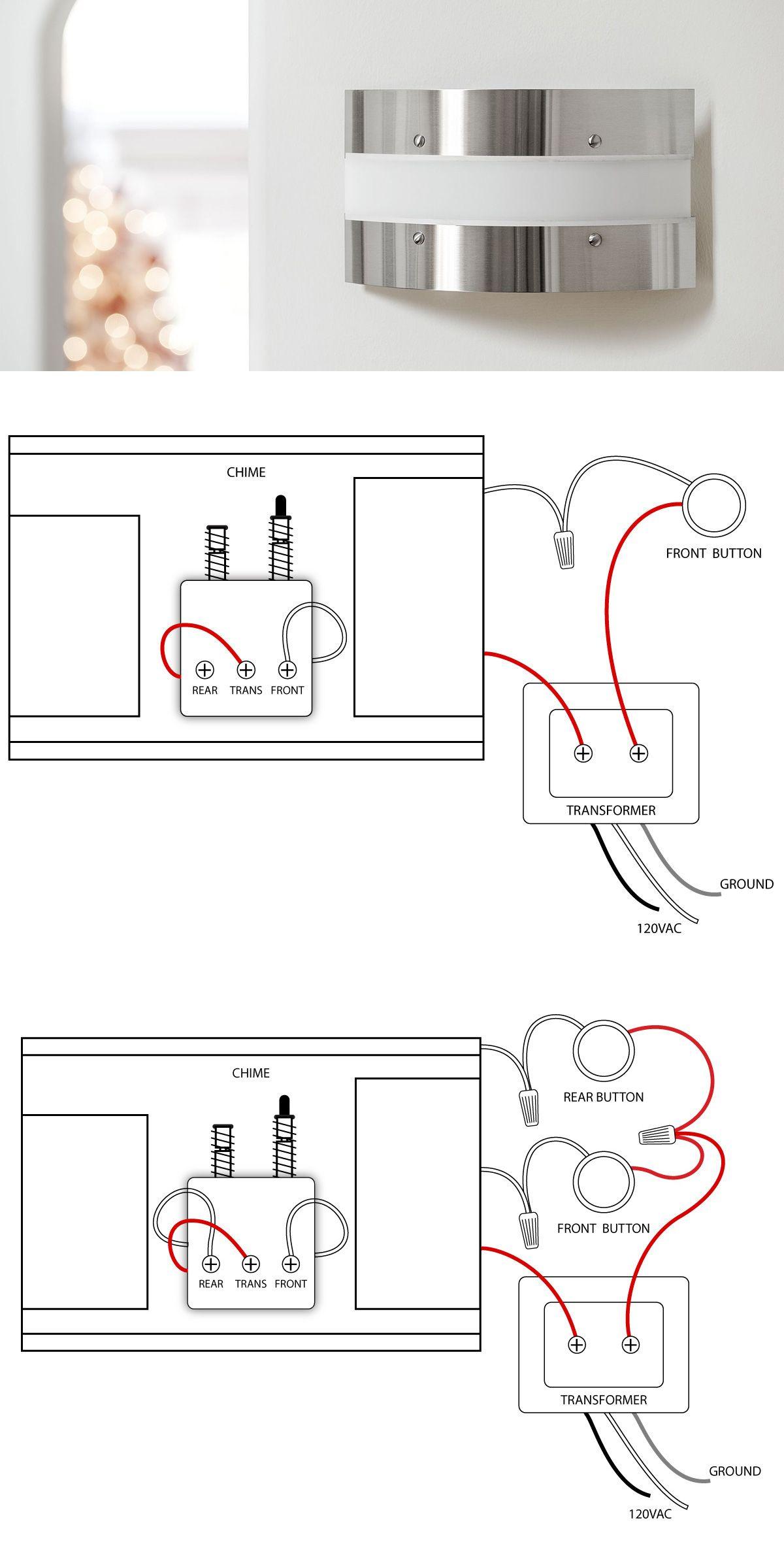 doorbell wiring diagrams note doors and diagram. Black Bedroom Furniture Sets. Home Design Ideas