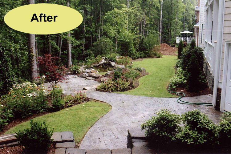 back yard hardscape idea | Yard & Landscaping Ideas ...