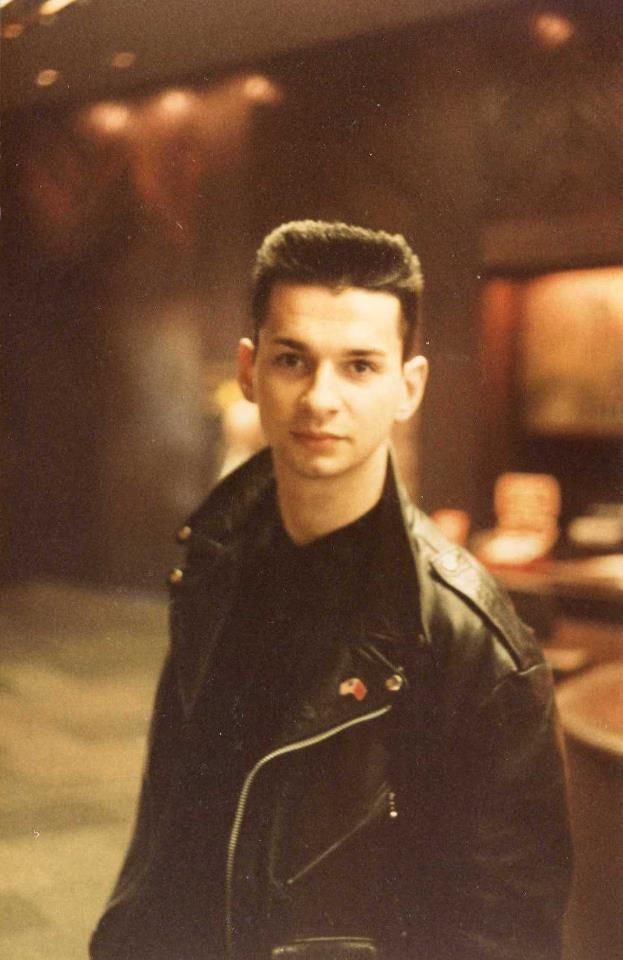 A very young Dave Gahan.