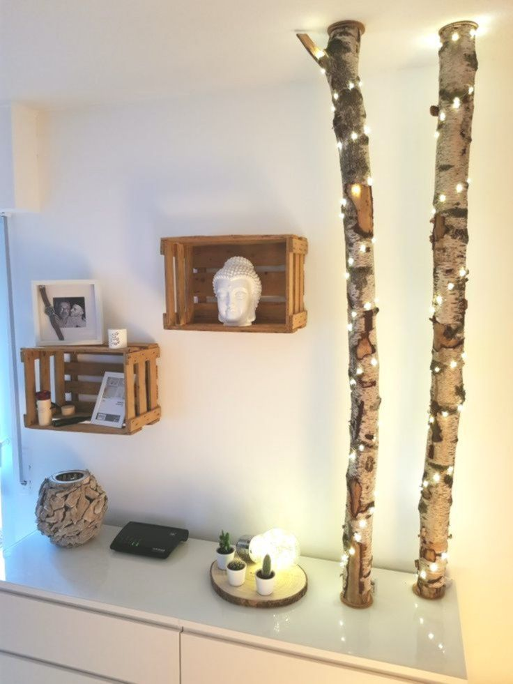 Birkenstamm DIY – mein Blog in 2020 | Dekoration, Zuhause ...