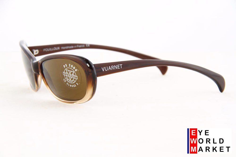1045ffe95715c eBay  Sponsored VUARNET Sunglasses 612 Dark Brown PX2000 Brown Lens ...