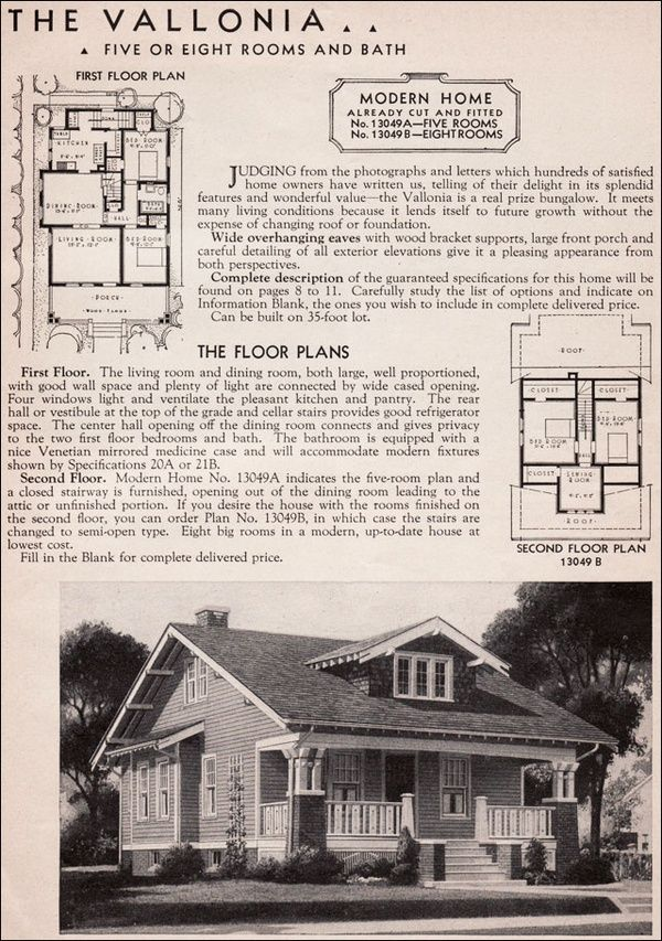This is the house plan for the home I grew up in  From 1936 Sears. Classic Craftsman Style Bungalow   Sears Ashmore   Modern Home No