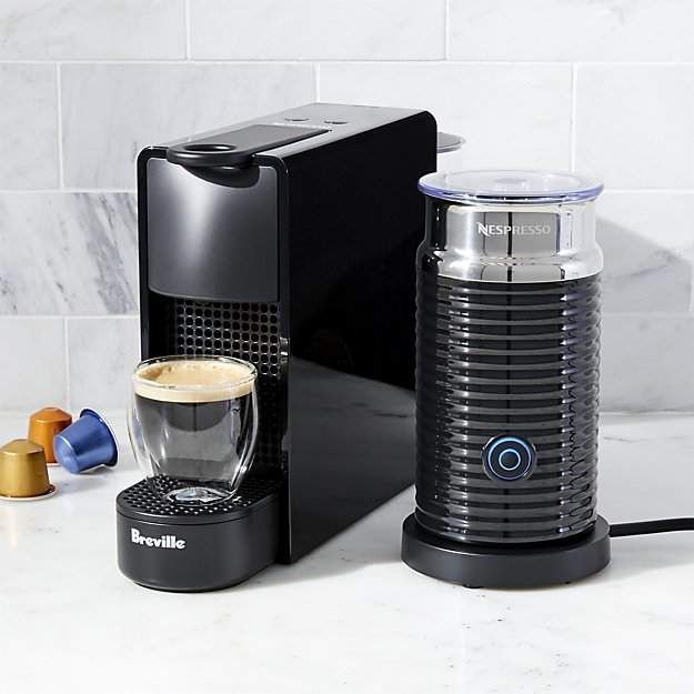 Nespresso ® by Breville Essenza Mini Black Espresso Maker Bundle #espressomaker
