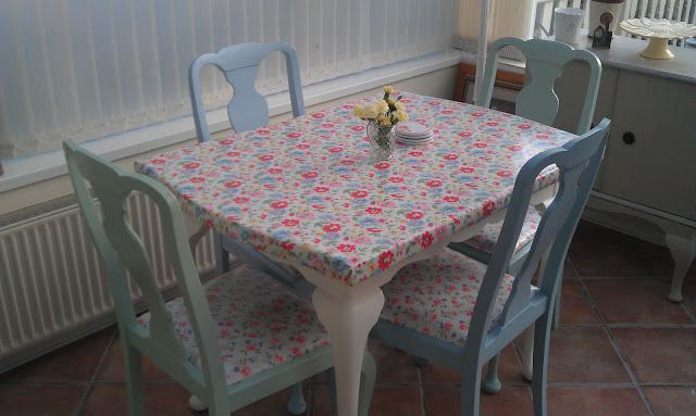 Simple Things: Cath Kidston Style Chair Makeover