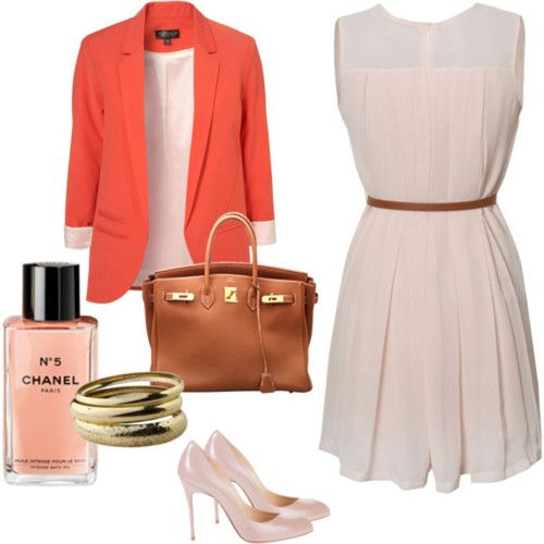 simply bold office outfit