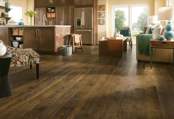 Beautiful Walnut Laminate Flooring Available At Express Flooring