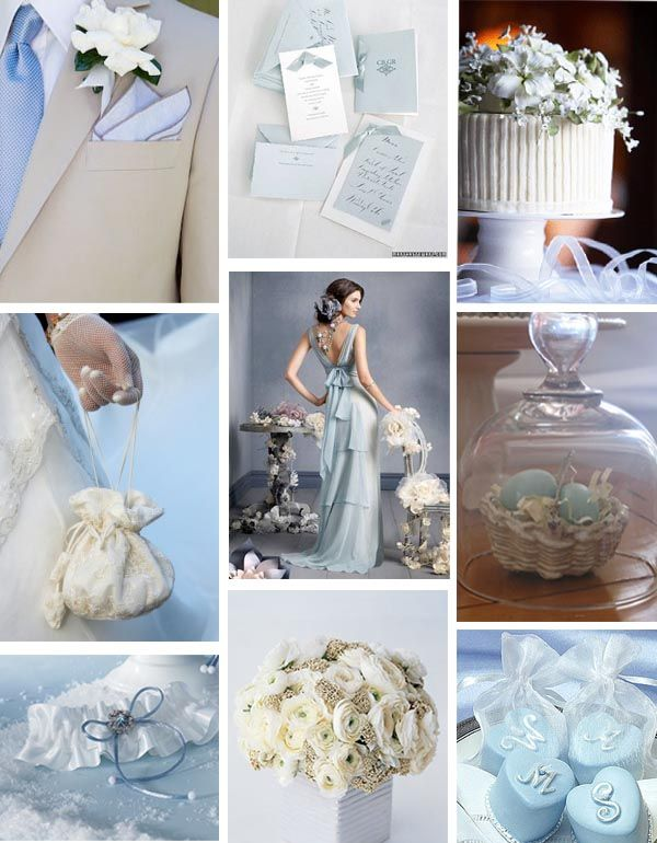 Pale Blue Wedding Love The Suit On Top Left With Light Beige And Tie