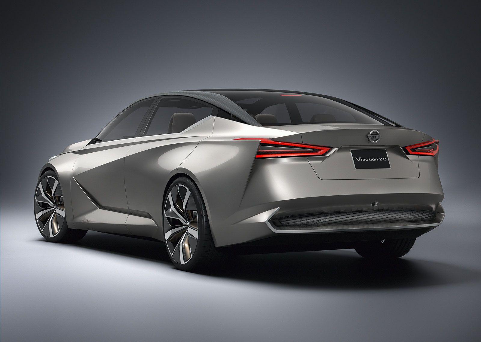 Nissan Vmotion 2 0 Concept Nissan Maxima