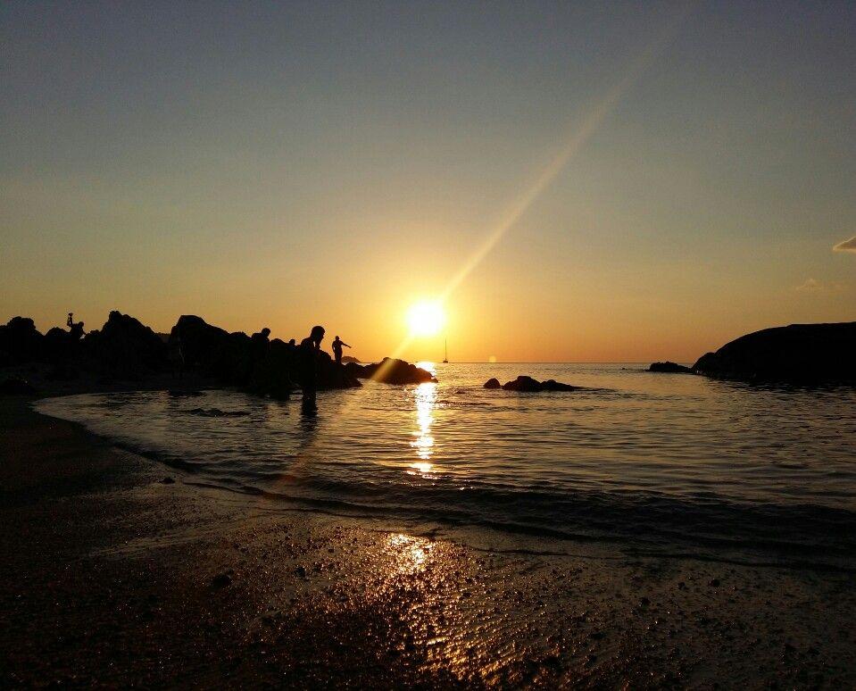 Love you as always. Sunset at kalim beach Phuket Thailand.
