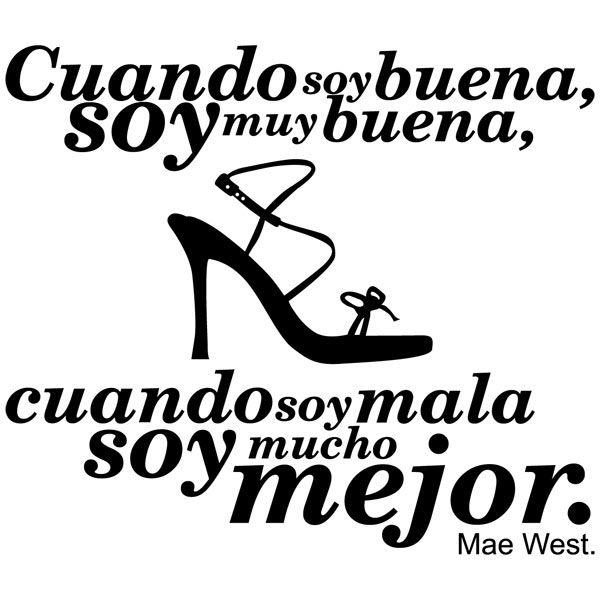Vinilos Decorativos: Mae West