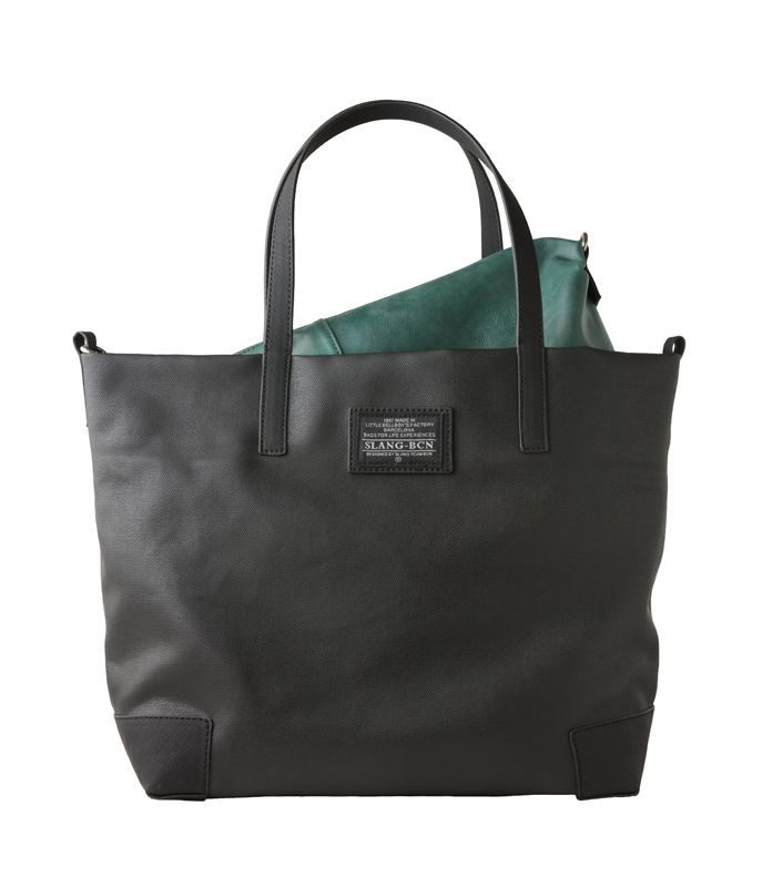 Slang Barcelona In Out Is A Shoulder And Tote Bag At The Same
