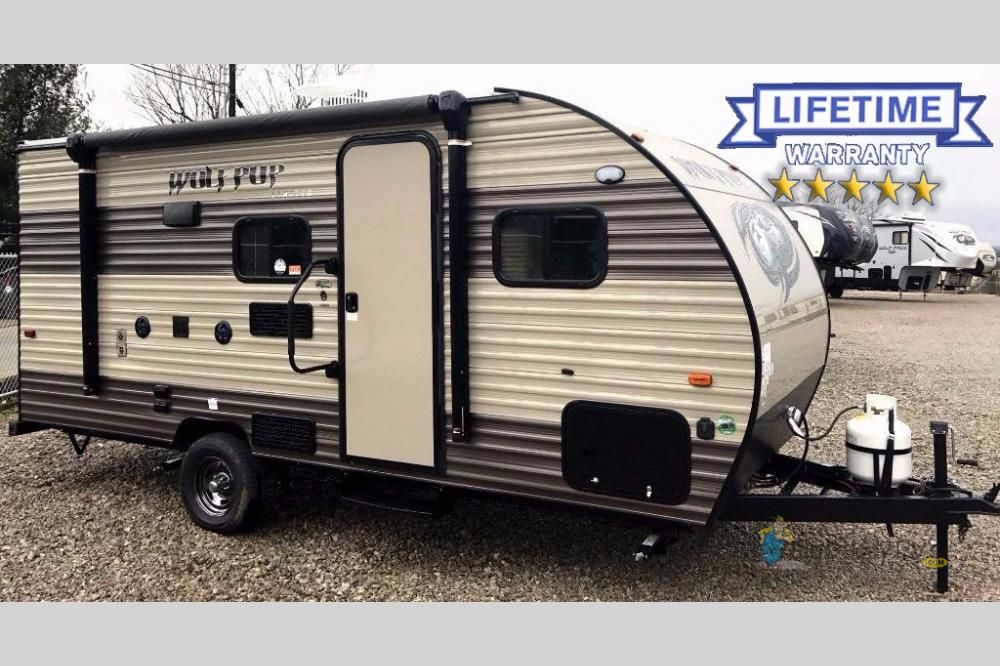 New 2018 Forest River Rv Cherokee Wolf Pup 16bhs Travel Trailer At