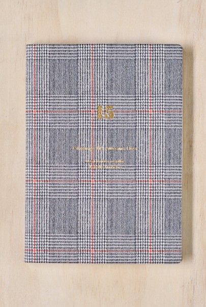 Delfonics - Tartan 2015 Diary Planner - Weekly - A5 (15x21cm) - Soft Cover #2015diary #organisation #notemaker #stationery