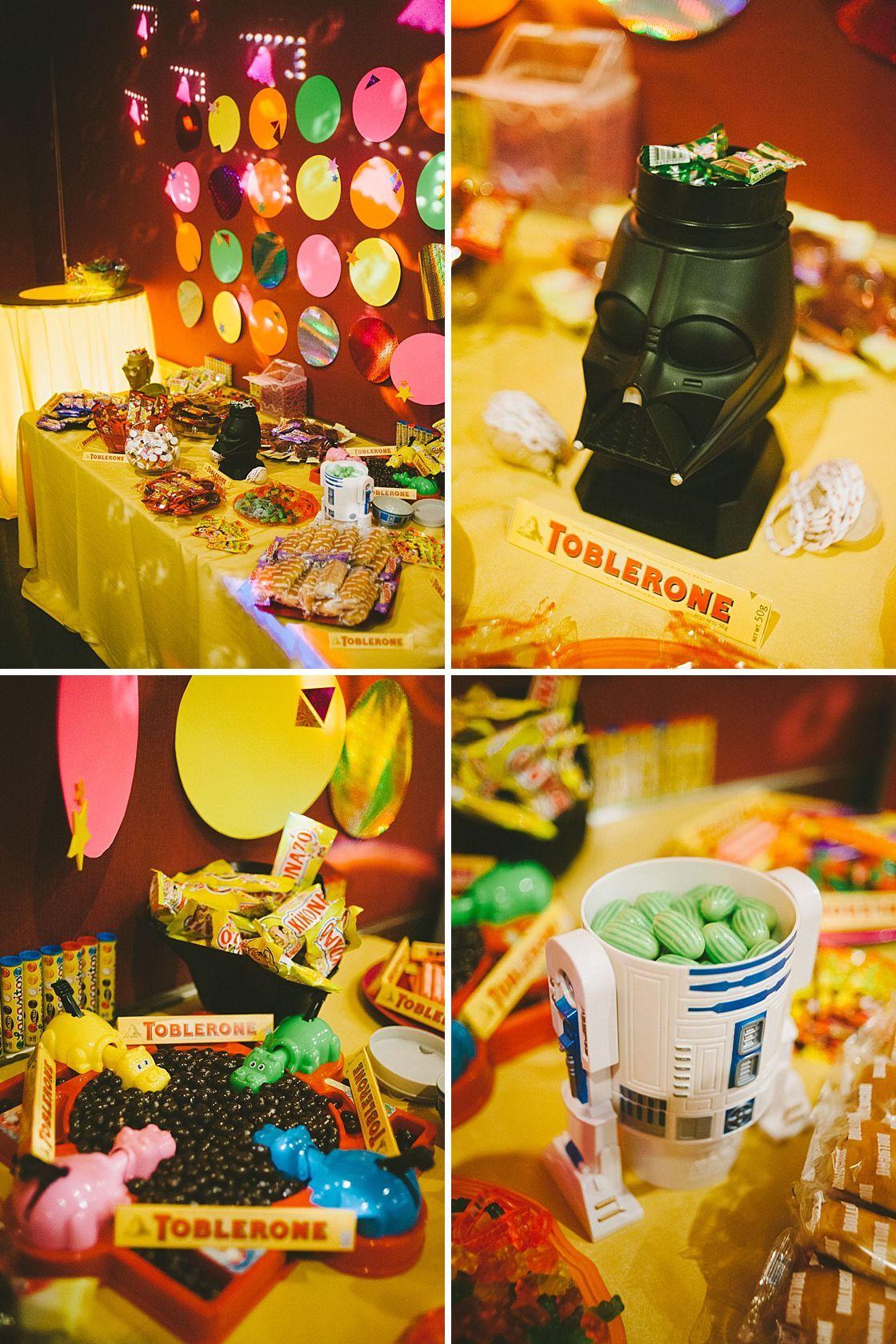 Wedding Bea Y Hector Candy Bar 80s Presume De Boda Wedding