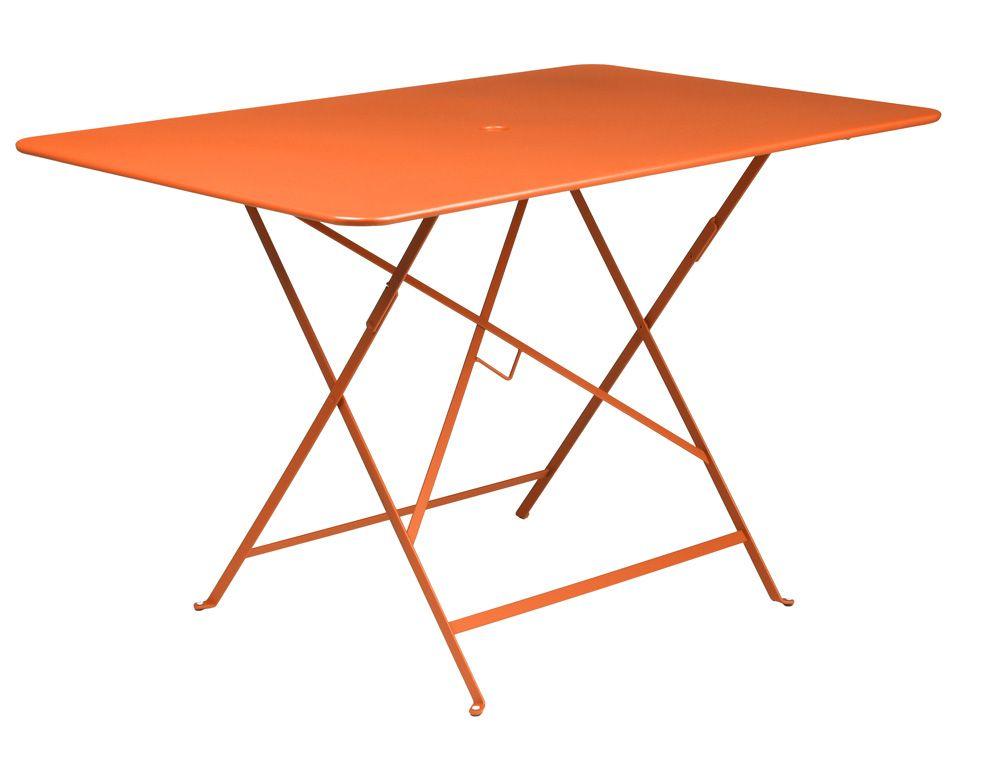 Mobilier Bistro : #Table 117 x 77 cm de jardin Couleur Carotte ...