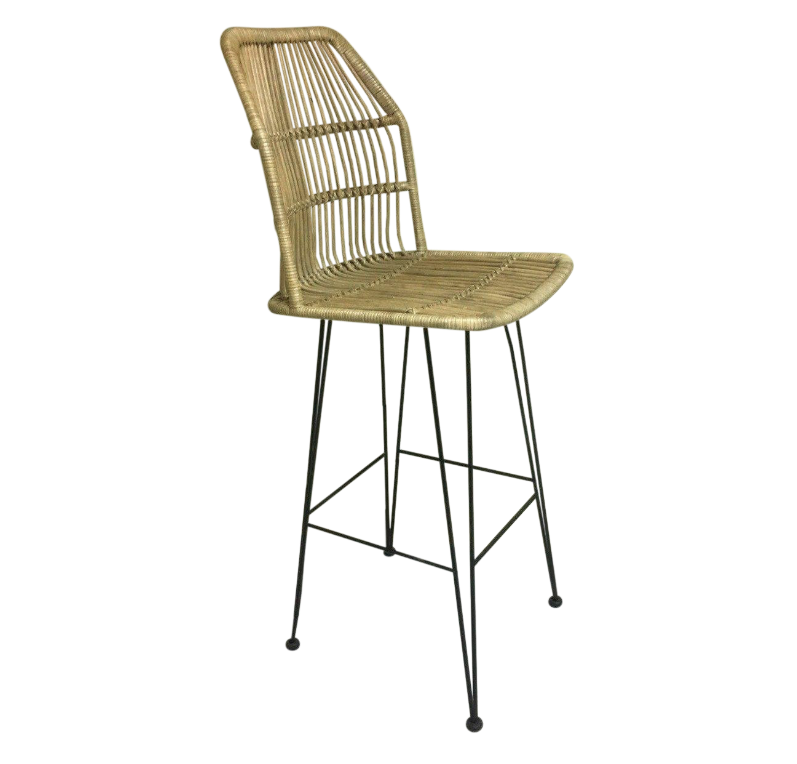 29 Inch Coastal Louis Rattan Bar Stool From Indonesia Rattan Bar Stools Bar Stools Oversized Chair Living Room