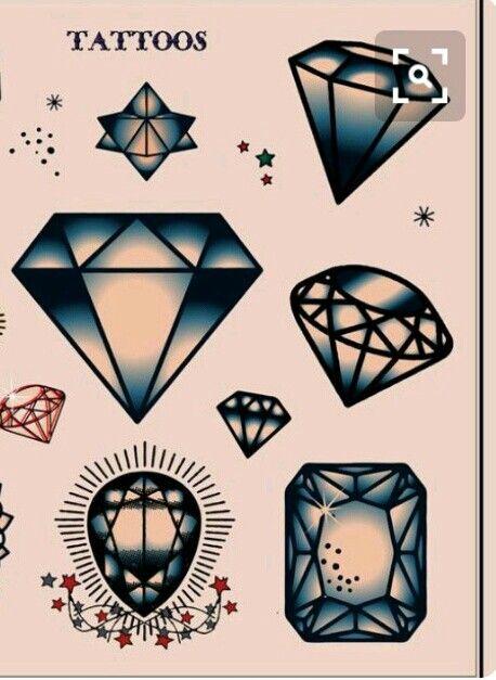 Diamonds Diamond Tattoos Traditional Diamond Tattoo Diamond Tattoo Designs