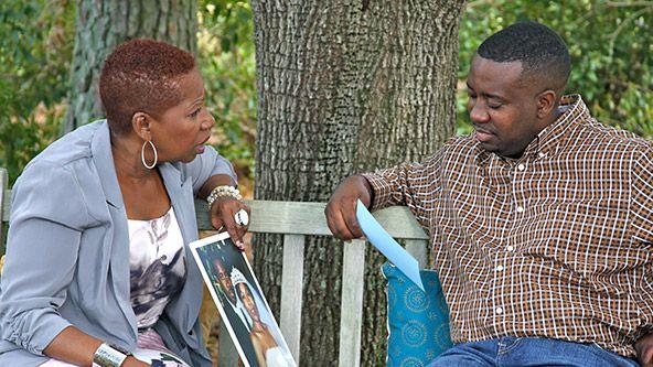 Who was iyanla vanzant married to