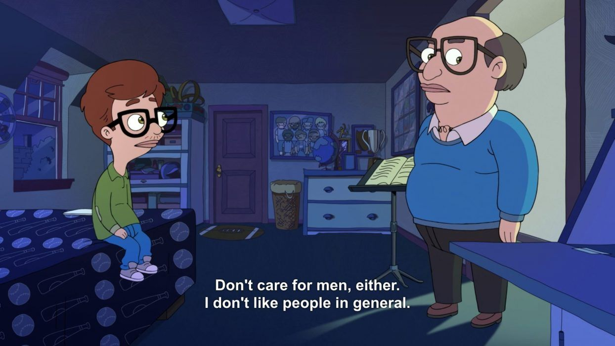 24 Funny Moments And Quotes From Big Mouth The Funny Beaver Big Mouth Funny Moments Big Mouth Quotes
