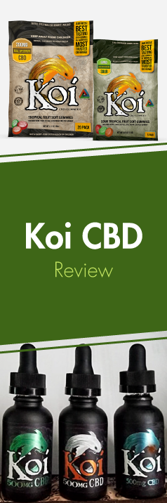 Learn everything about Koi CBD, from manufacturing process