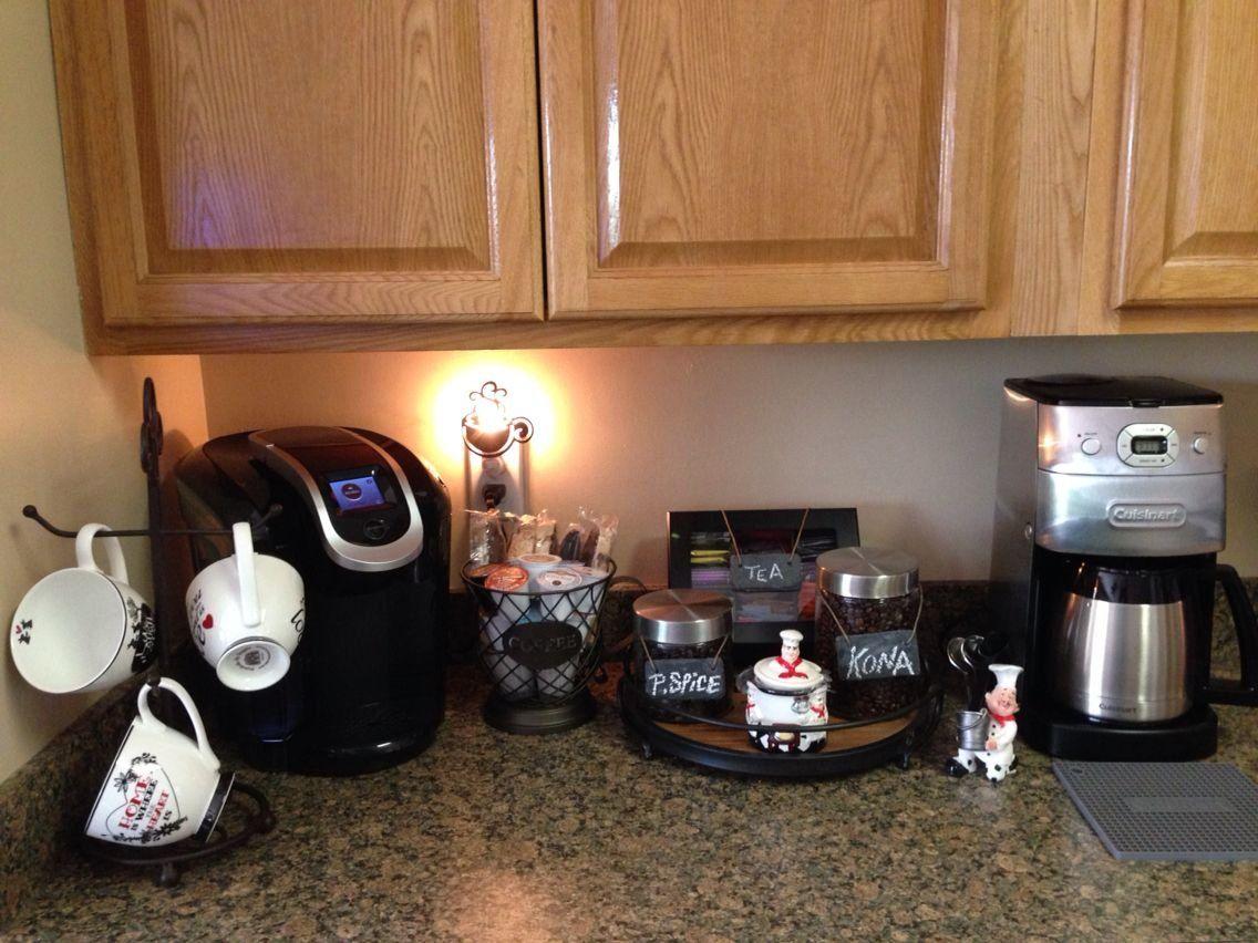 In Home Coffee Bar #home #coffee #bar #coffeestation #tea  | 1000