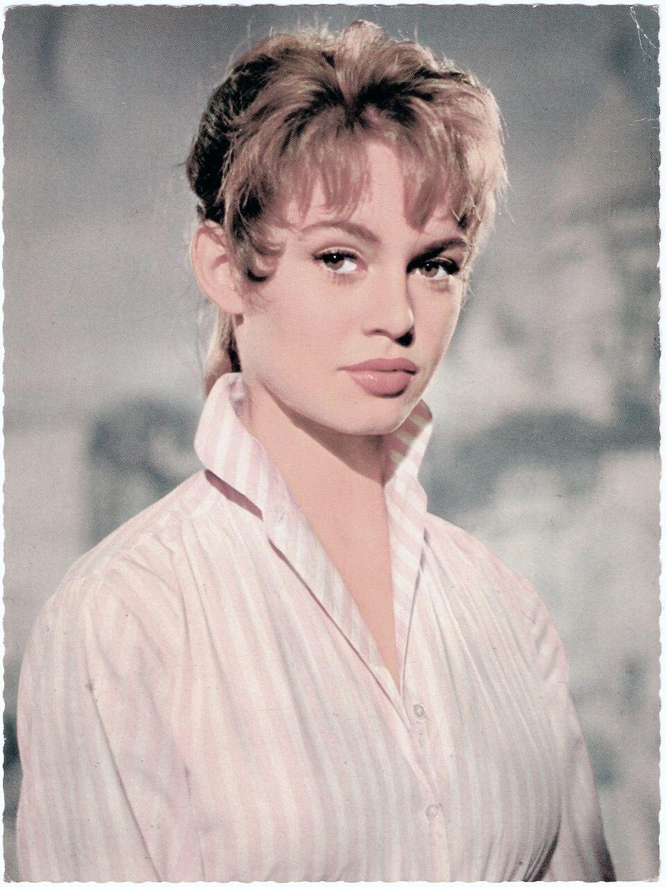 Early publicity shots of Brigitte Bardot. Mid-1950s. | Brigitte ...