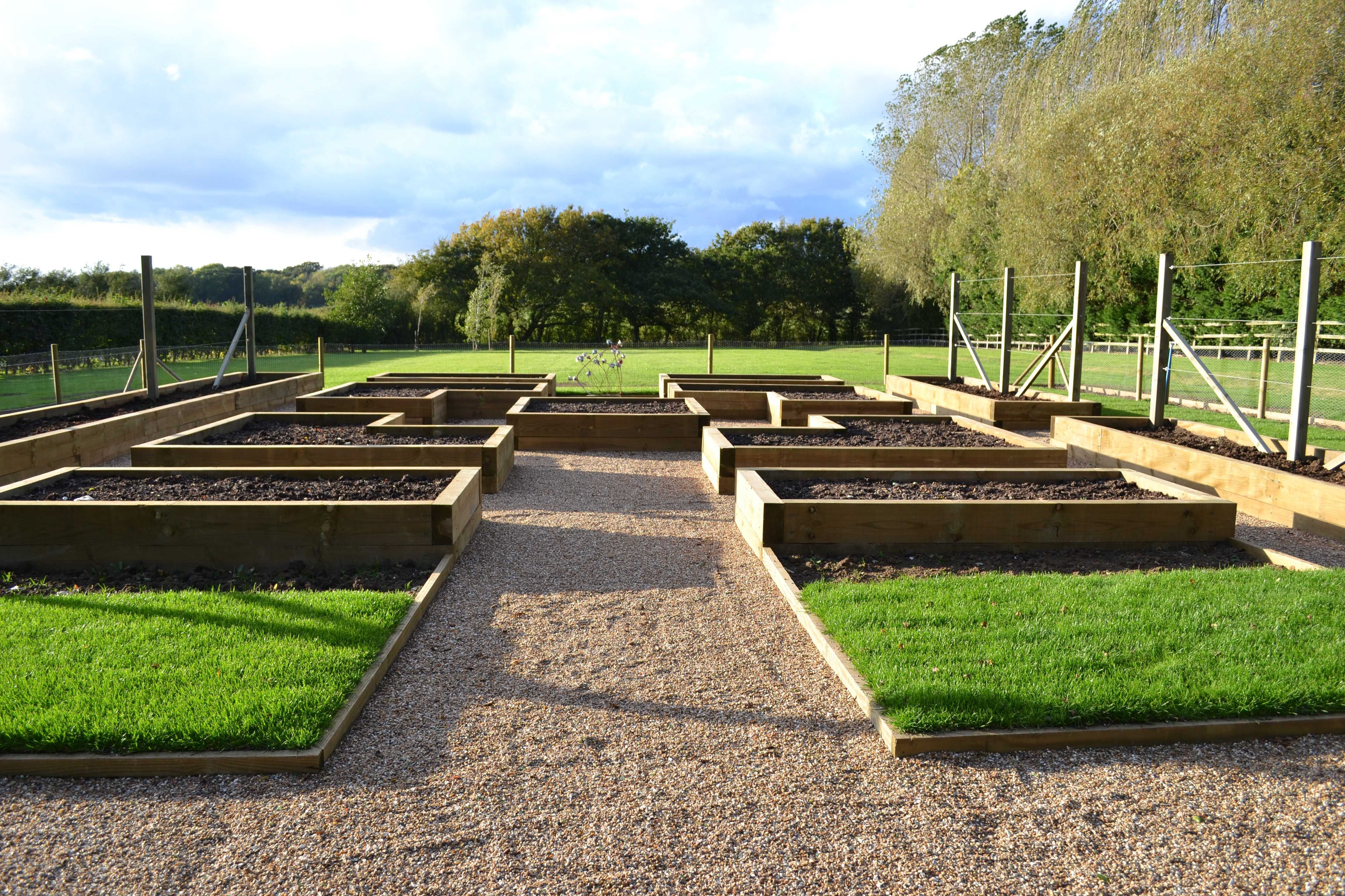 Potager – definition The traditional kitchen garden also known