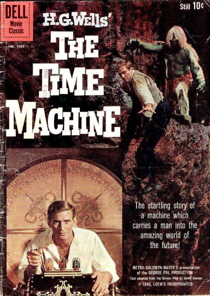 LA MACHINE A REMONTER LE TEMPS DE H.G.WELLS. The time