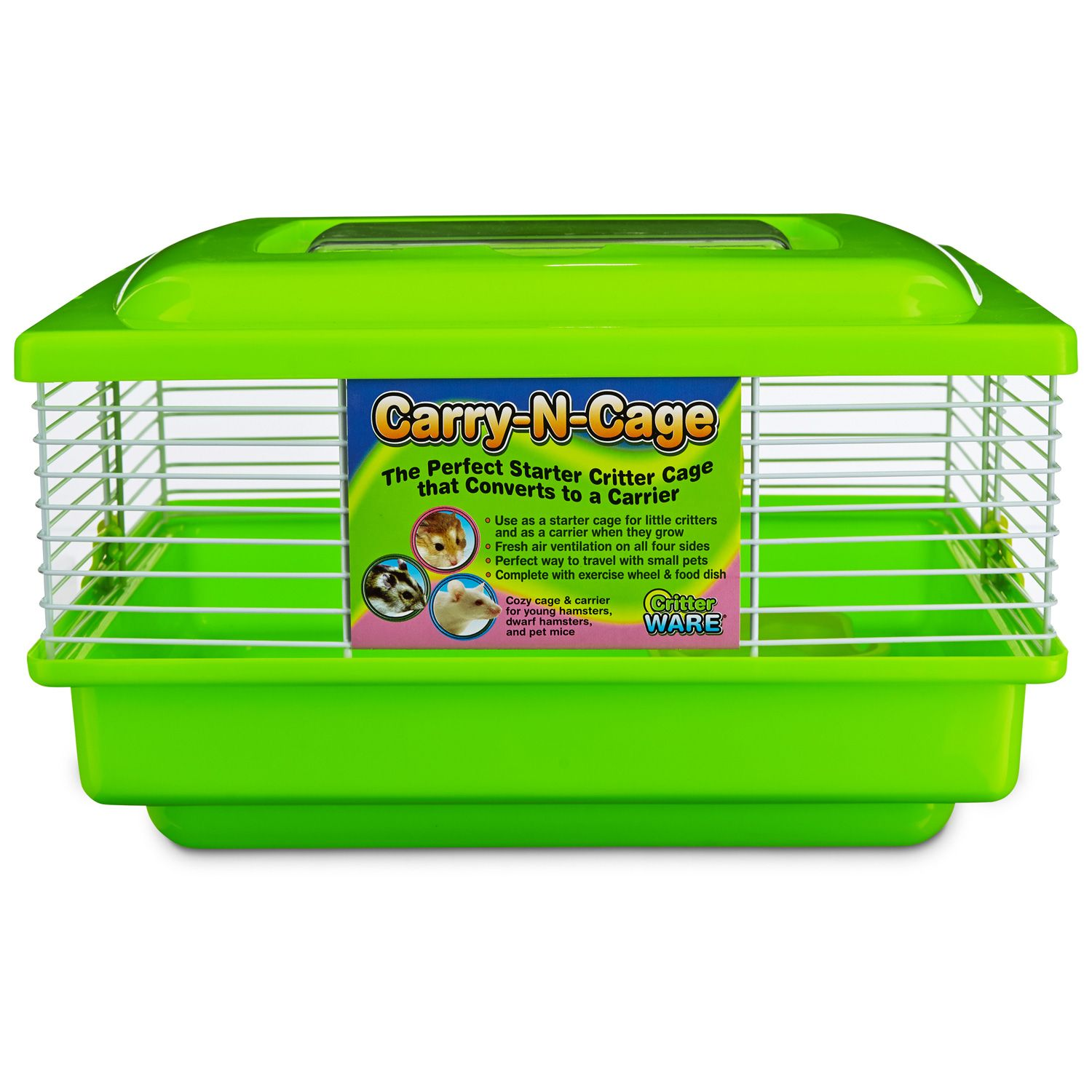 WARE CarryNCage Small Animal Habitat Small pets, Small