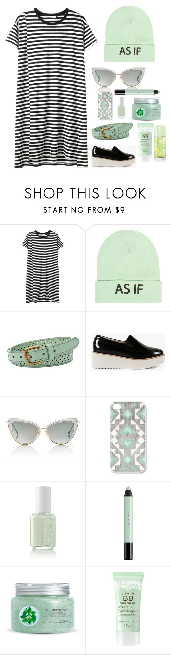 """""""I love Mint colour"""" by ificanfly ❤ liked on Polyvore featuring Hope, Wet Seal, FOSSIL, Sol Sana, Dita, shu uemura, Fuji, Elizabeth Arden, women's clothing and women"""