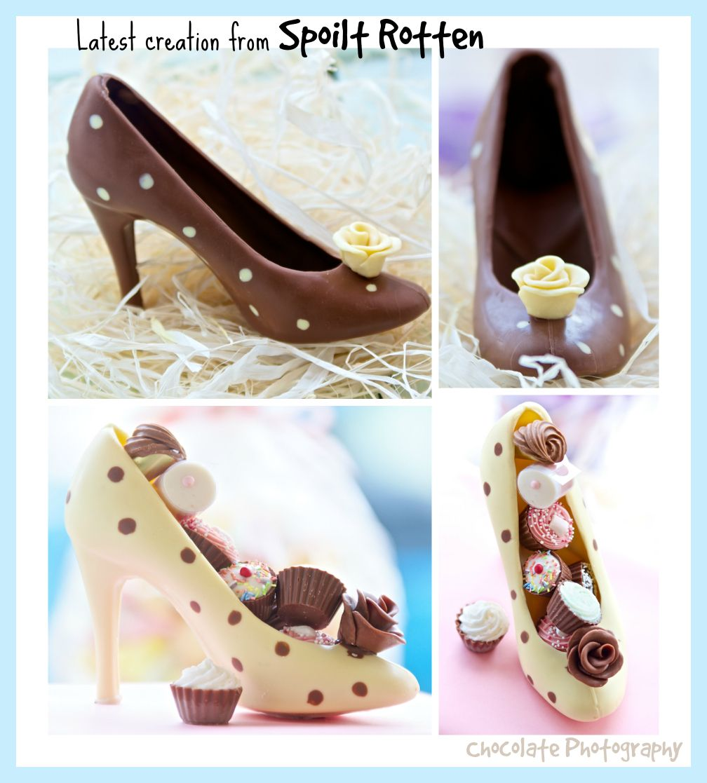 Belgian Chocolate Shoes available to buy from my Etsy shop