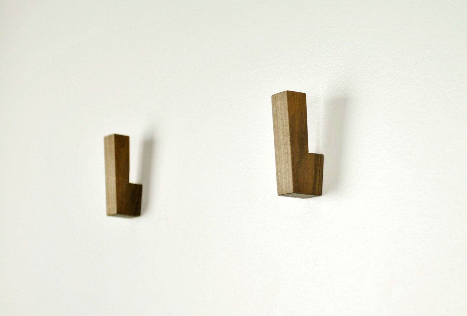 Wooden wall hooks wooden coat hooks by fmcdesign on etsy https www