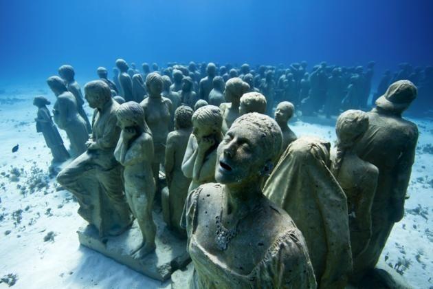 Resultado de imagen de El museo bajo agua de Cancún, México