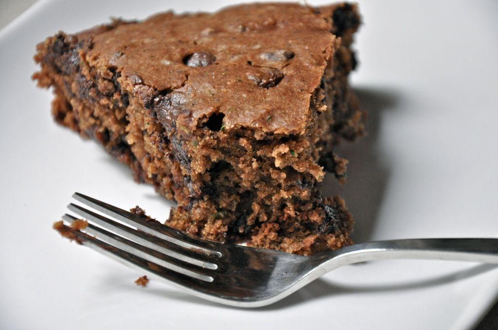 Salty chocolate zucchini cake (Sear, Simmer & Stir)