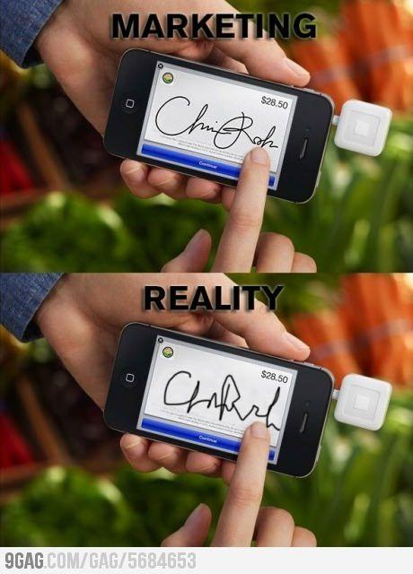Marketing vs realidad. ¿Será #marketers? #marketing #negocios #business