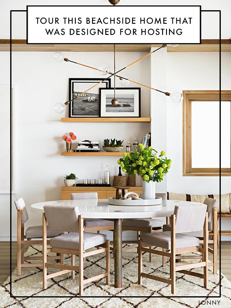 Peek Inside A Beachside Home Designed For Hosting Home Dining