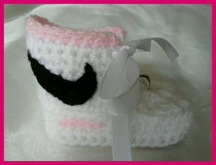 Homemade Nike Baby Sneakers Free Patterns And Tutorial Unique Crochet Nike Shoes Free Pattern