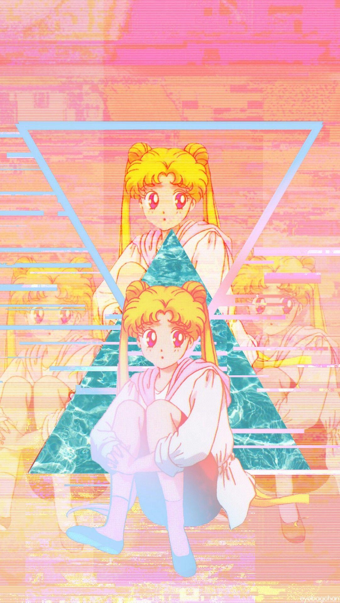 AESTHETIC VAPORWAVE ANIME IMAGE 🍒   Aesthetic anime, Anime ...