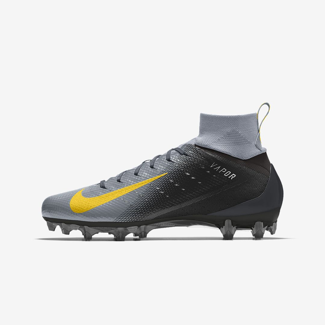 9d0fbdb01c755f Nike Vapor Untouchable Pro 3 By You Custom Men's Football Cleat Size 11.5  (Multi-Color)