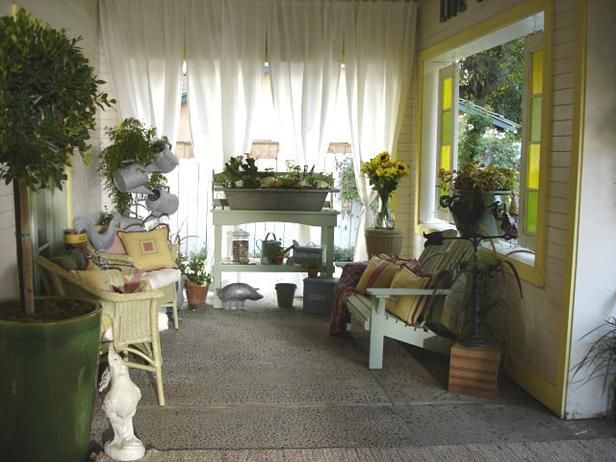A comfy porch I would like to sit on...