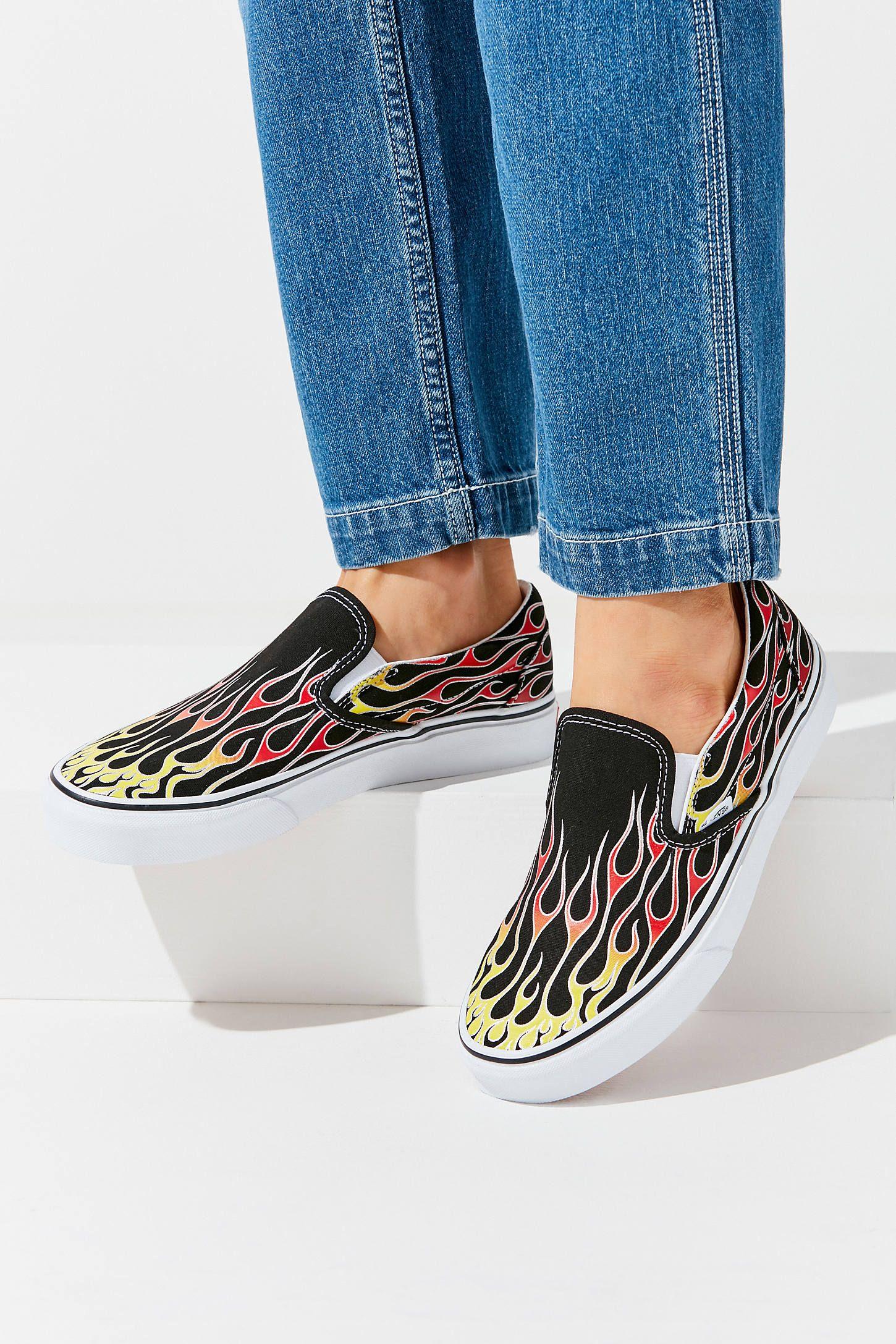 Vans Mashup Flame Slip-On Sneaker