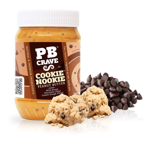 Cookie Dough Peanut Butter !!! #OMG #dying