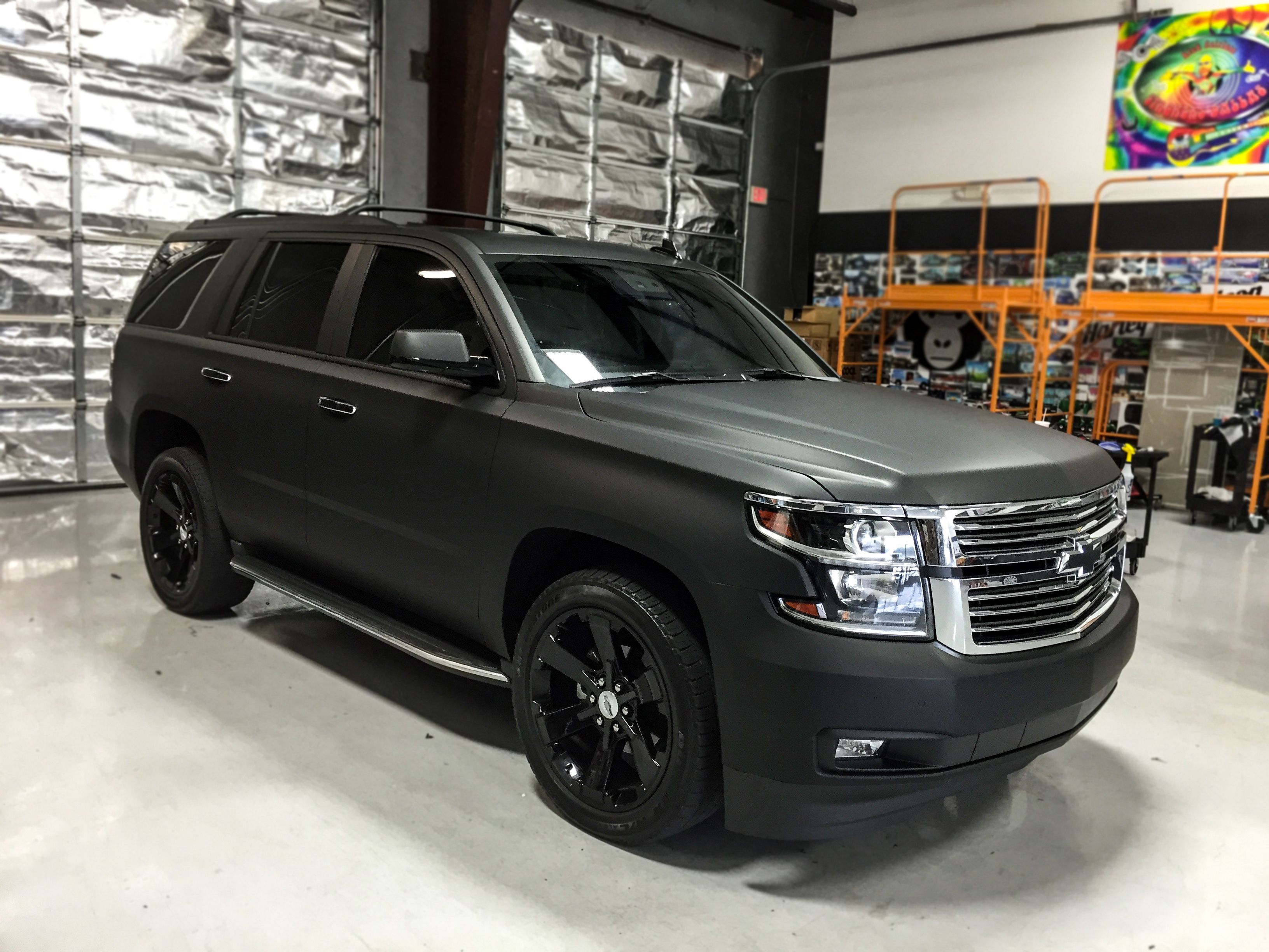Matte Black Tahoe Yahoo Image Search Results Black Truck Chevy Trucks Matte Cars