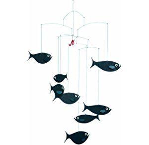 Flensted Mobile Fischschwarm Muzyka Vetra Lovcy Snov Ryba