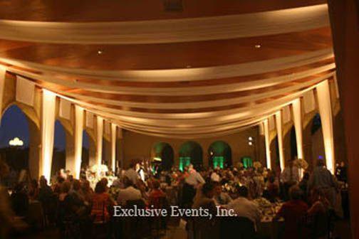 world s fair pavilion drape and candlelight lighting st louis