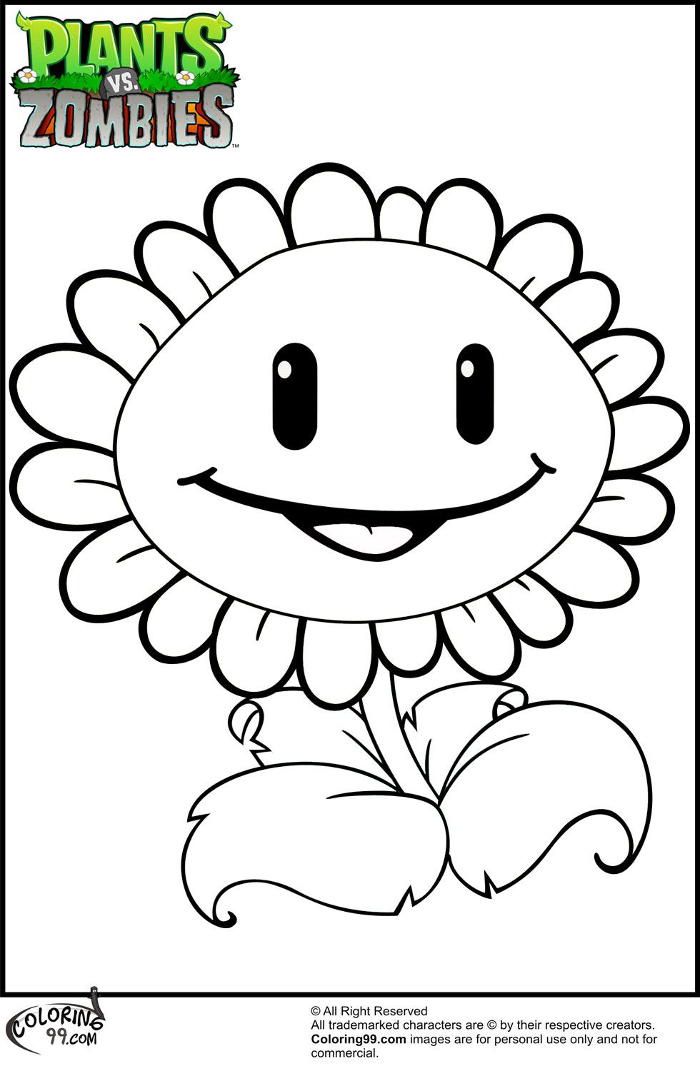 Plants Vs Zombies Is A Game That Is Well Known Nowadays To Be Played In Various Plat Plants Vs Zombies Birthday Party Sunflower Coloring Pages Sunflower Colors