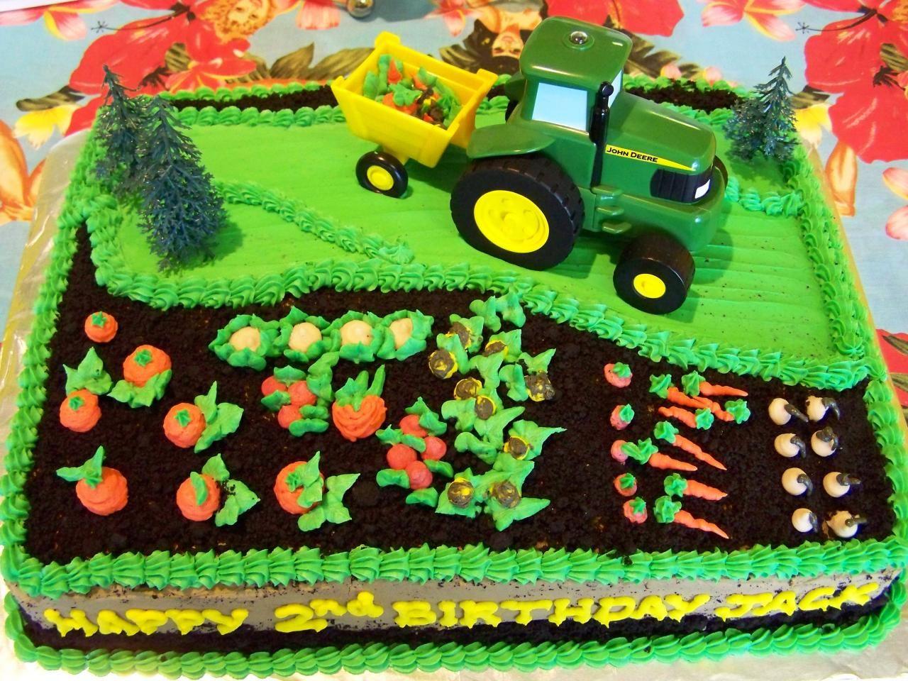 John Deere Birthday Cakes