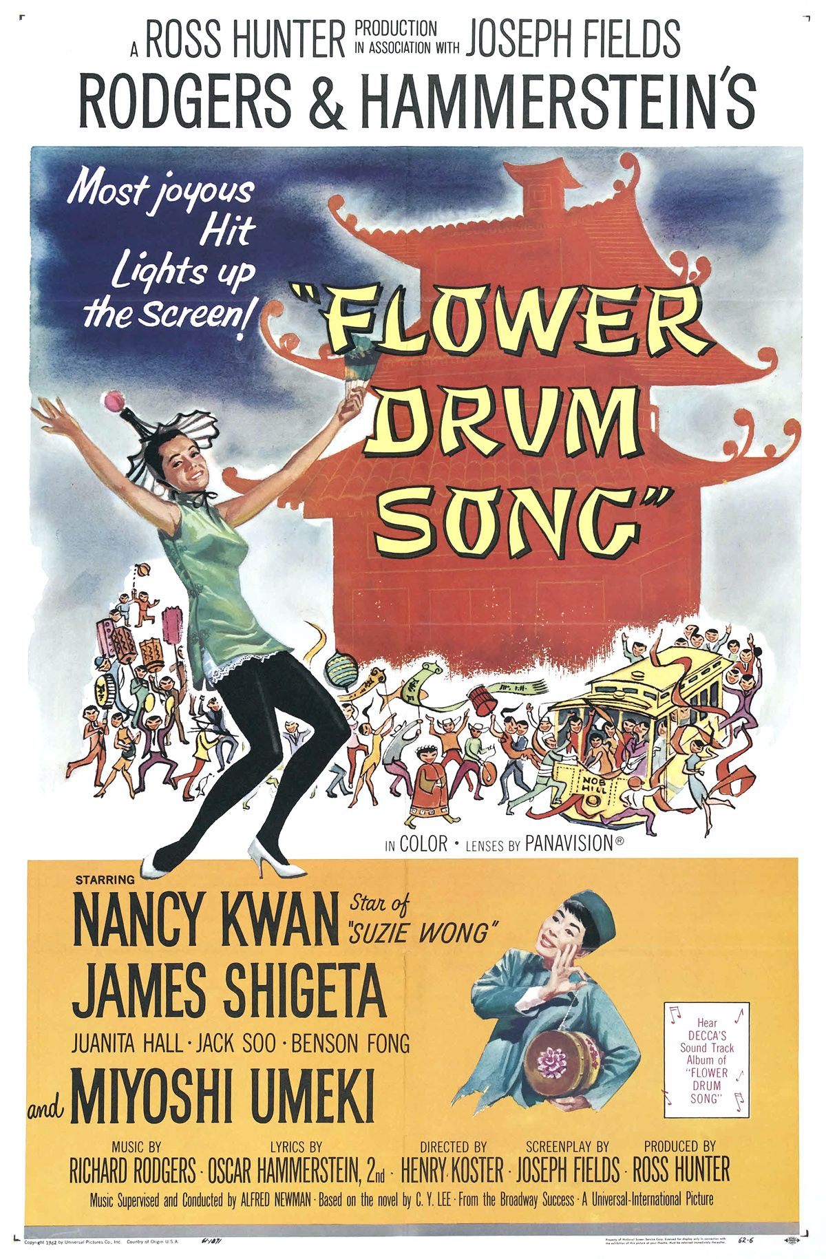 Flower Drum Song (1961), thanks ling ling for this love